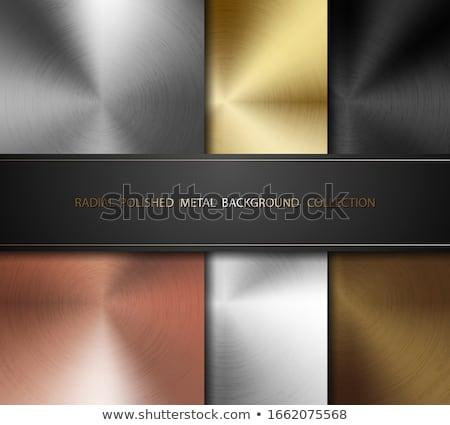 Gepolijst textuur koper metaal vector Stockfoto © Iaroslava