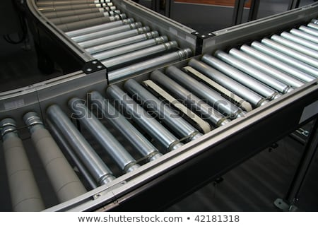 Roller Conveyor Section Stock photo © albund