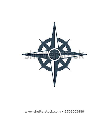 compass rose symbol. Europe protection. Cartography symbol. nautical geography. Stock Vector illustr Stock photo © kyryloff
