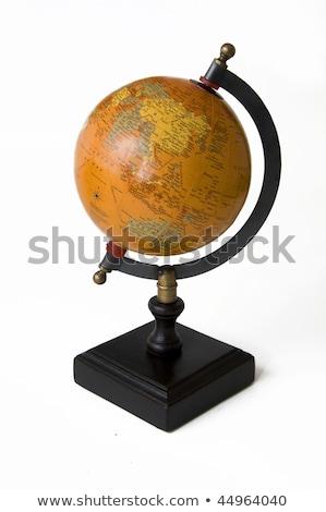 Terra globo madeira velha primavera madeira natureza Foto stock © rufous