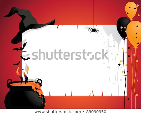 Spooky Halloween with copy space. EPS 8 Stock photo © beholdereye