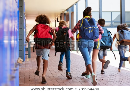 Stock photo: End of summer, back to school.