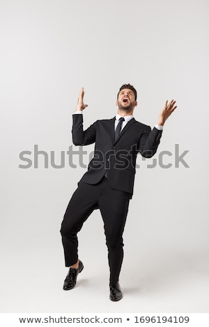 Clenched fist, arm in business suit Stock photo © Paha_L