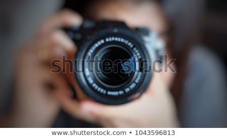 vrouw · schieten · foto · asian · toeristische - stockfoto © smithore