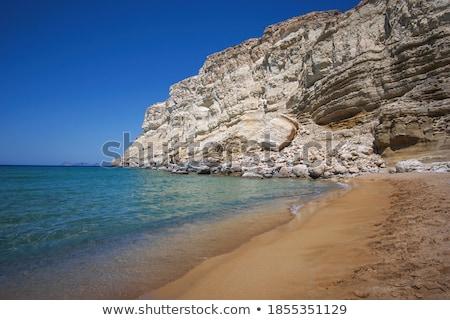Red Beach near Matala stock photo © duoduo