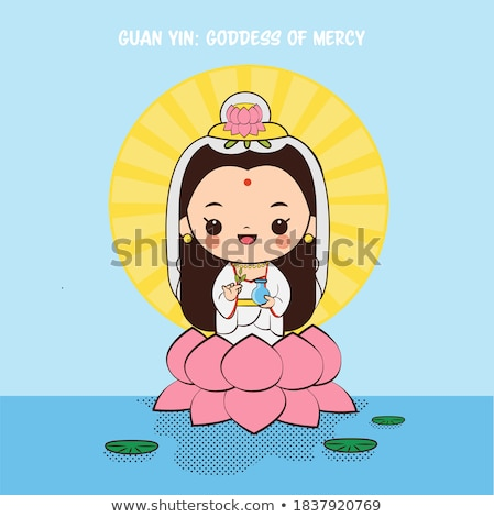 chinese god sculpture stock photo © pongam