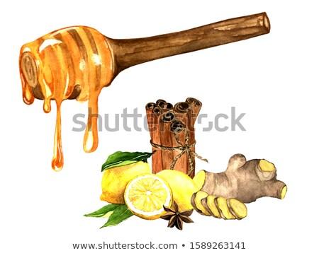 ブラウンシュガー シナモン アニス 甘い 材料 食品 ストックフォト © elly_l