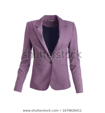 Stock photo: businesswoman with jacket