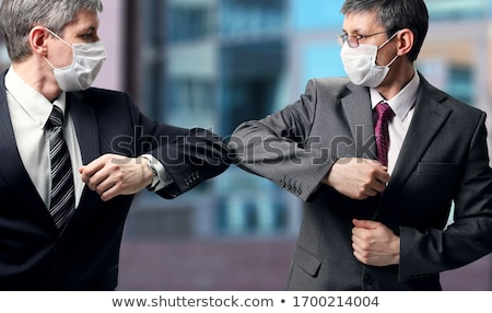 Striking businessman Stock photo © photography33