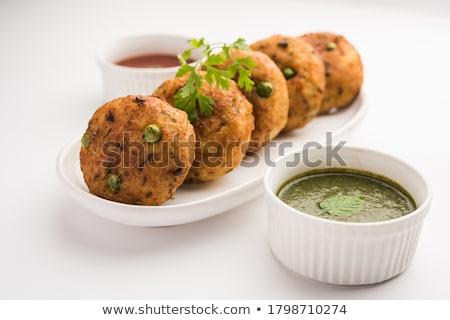 индийской · глубокий · жареный · картофель · орех · кешью - Сток-фото © mnsanthoshkumar