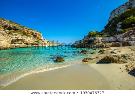 panoramic view of alcudia bay stock photo © macsim