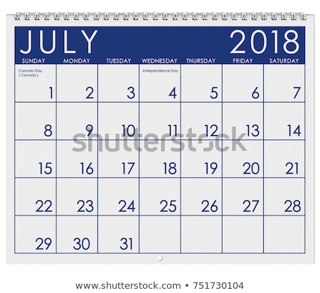 четвертый календаря дата вектора икона день Сток-фото © AnnaVolkova