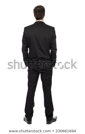 Back of pusinessman. Stock photo © Kurhan