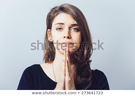 Pleading with God Stock photo © lisafx