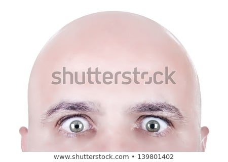 Crazy Eyed Man Stock photo © ArenaCreative