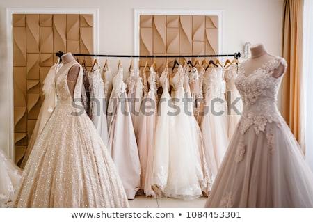 güzel · gelinlik · manken · alışveriş · iş - stok fotoğraf © gsermek