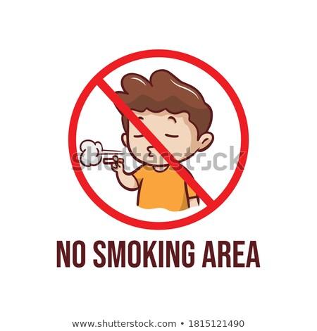 日本語 少女 喫煙 シガー かわいい アジア ストックフォト © carlodapino