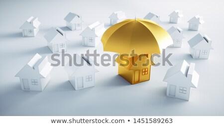 Housing umbrella Stock photo © OneO2