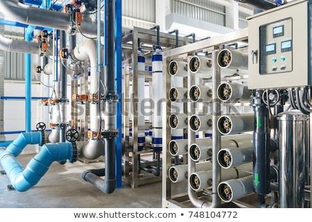 Stok fotoğraf: Water Purification Filter