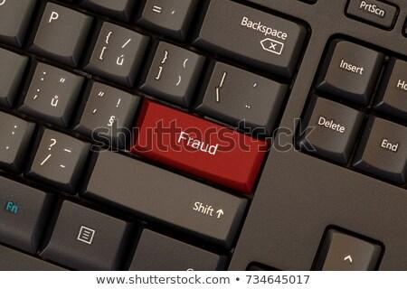 Fraud Button. stock photo © tashatuvango