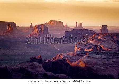 föld · Arizona · sivatag · festői · tájkép · kő - stock fotó © vwalakte