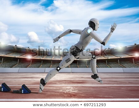 Courir robot Photo stock © zzve