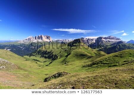 Dolomiti - landscape from Pian de Sele Stock photo © Antonio-S