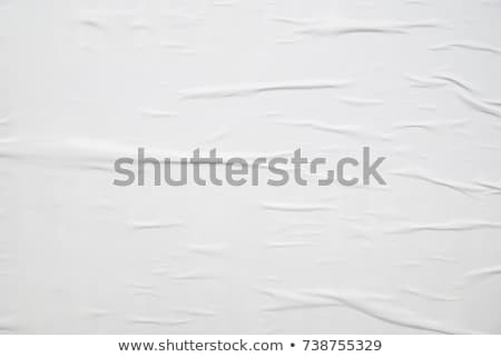 Old grunge creased paper texture. Retro vintage background Stock photo © photocreo