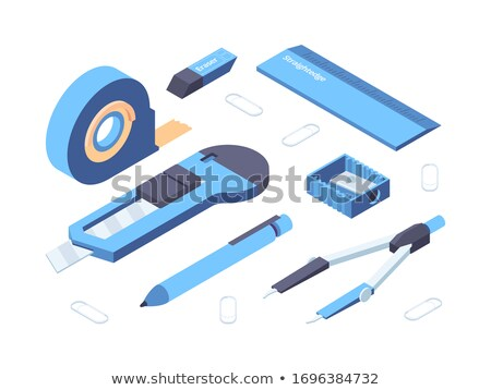 Vector icon sticky tape Stock photo © zzve