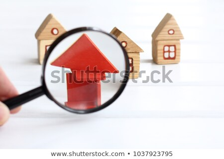 on closer inspection   red house stock photo © iqoncept