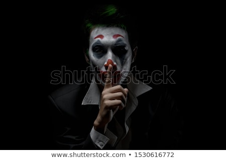 Happy Male Joker Stock photo © AndreyPopov