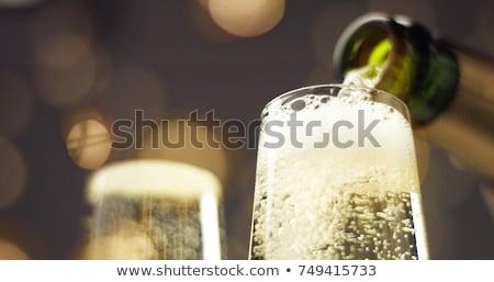 2 · 眼鏡 · ワイン · 黒 - ストックフォト © magann