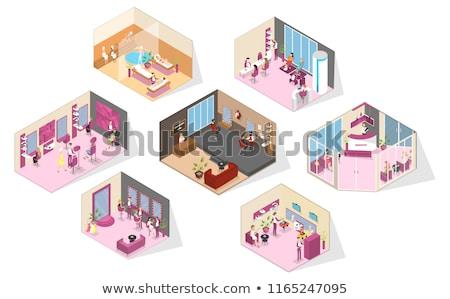 manicura · salón · macro · primer · plano - foto stock © juniart