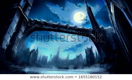 księżyc - zdjęcia stock © MichalEyal