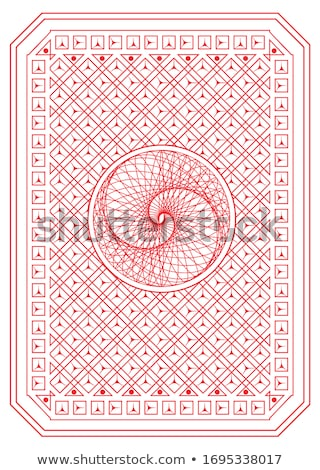 casino vintage poker card vector illustration stock photo © carodi
