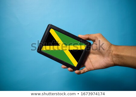 smartphone national flag of jamaica    Stock photo © vepar5