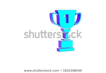 troféu · ao · ar · livre · esportes · metal · copo - foto stock © tashatuvango
