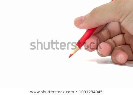 Writing with right hand for Education stock photo © hin255