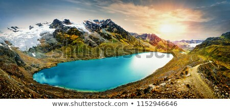 Stock fotó: Díszlet · körül · Peru · dél-amerika · víz · természet