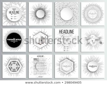 poster · plaats · ontwerp · textuur · man - stockfoto © alevtina