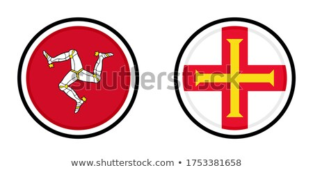 map on flag button of guernsey stock photo © istanbul2009