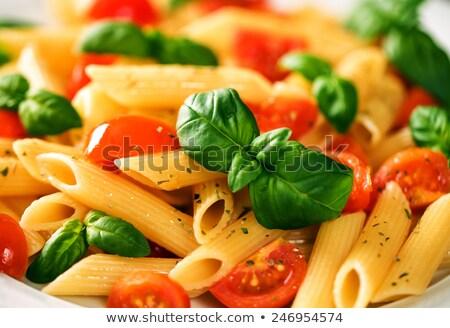 Italiaans · pasta · voedsel · textuur · business - stockfoto © Supertrooper