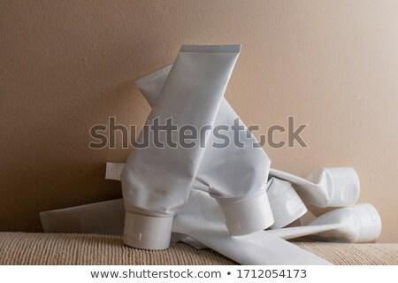 пусто косметических трубка контейнера белый стороны Сток-фото © dezign56