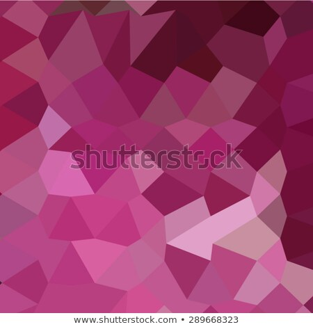 French Rose Pink Abstract Low Polygon Background Stock photo © patrimonio