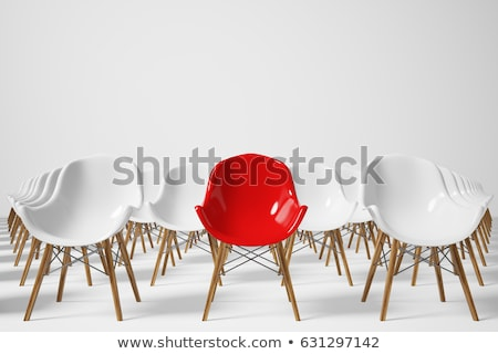 Chair row in a seminar room Stock photo © pixpack