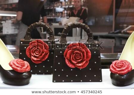 Molten Chocolate Shoe Stock photo © Bigalbaloo