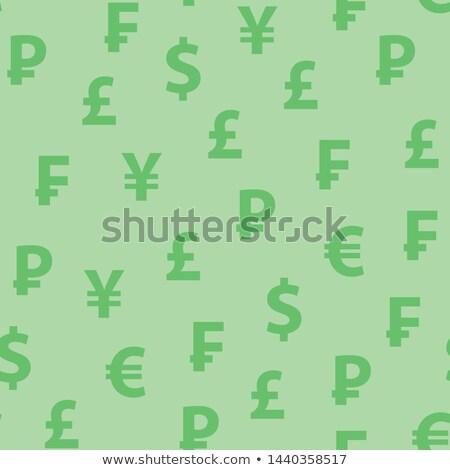 Yen diseno icono ilustración aislado dinero Foto stock © nickylarson974