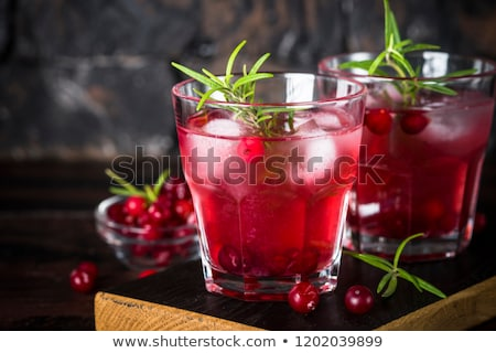 Foto stock: Cranberry Punch