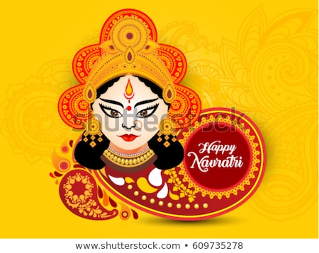 Stock photo: abstract artistic colorful navratri background