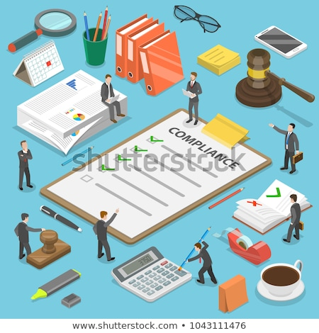 mappa · címke · könyvvizsgálat · üzlet · pénz · toll - stock fotó © tashatuvango